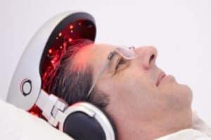 Foto estimulação capilar